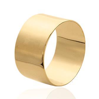 Anillo Plaqué Oro 750 milésimas. 3 Micras